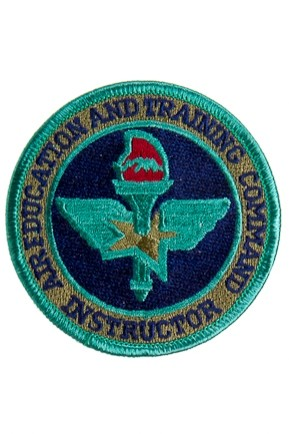 Badge Opstrijkbaar / Instructor Air Training Command