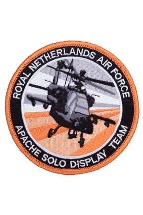 Badge Opstrijkbaar / Apache Solo Display Team