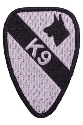 Badge Opstrijkbaar / K9 Dog Patch
