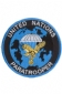 Badge Opstrijkbaar / United Nations Paratrooper