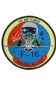 Badge Opstrijkbaar / F16 US Air Force Fighting Falcon