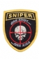 Badge Opstrijkbaar / Sniper ''one shot..one kill''